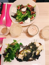 tartine et salade le Sweet Spot