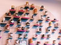 Le mur des pâtes à tartienr Le SweetSpot